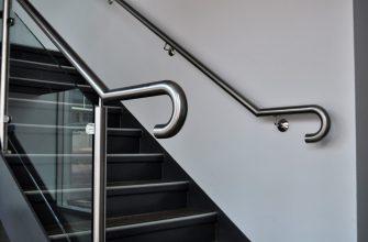 Поручни из нержавейки для лестницы цена, плюсы и минусы