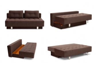 Преимущества дивана с механизмом евронижка