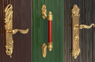 Виды и особенности дверных ручек