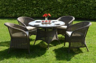 Мебель из ротанга – идеальное решение для вашего сада