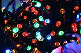 Особенности выбора и использования светодиодных гирлянд