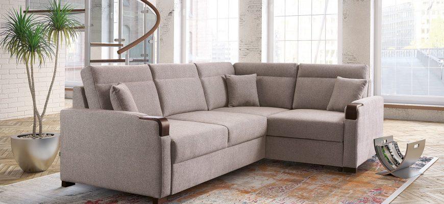 Угловой диван как одна из разновидностей
