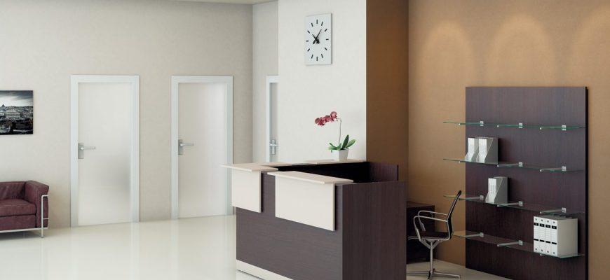 Особенности выбора мебели для обустройства ресепшн