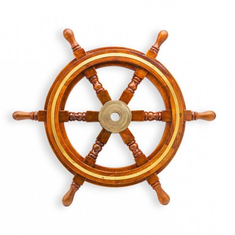 Штурвал для корабля своими руками