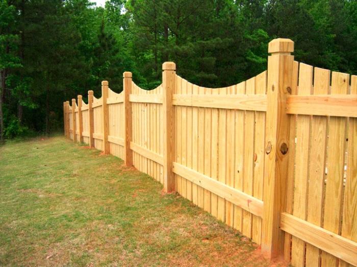 Как сделать забор на участке своими руками 26